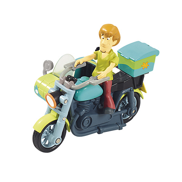 V hicule avec mini figurine scooby doo sammy et sa moto side car lansay king jouet figurines - Scooby doo sammy ...