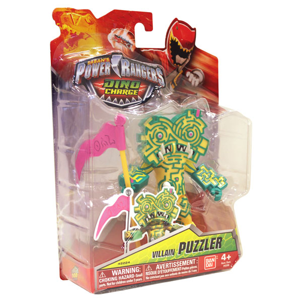 Dino charge Villain Puzzler