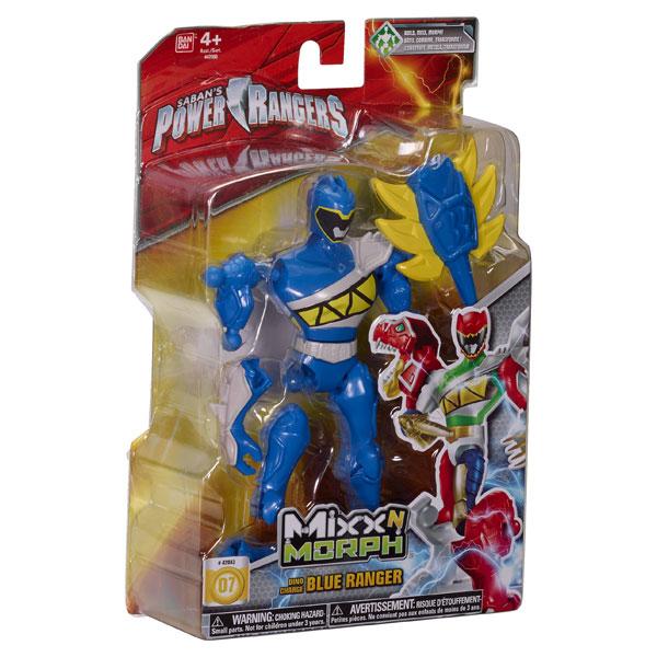 Power Ranger Mixx n Morph Ranger bleu