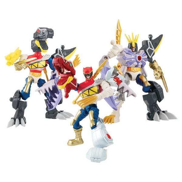 Power Ranger Mixx n Morph Ranger Zord Trex rouge Dino charge