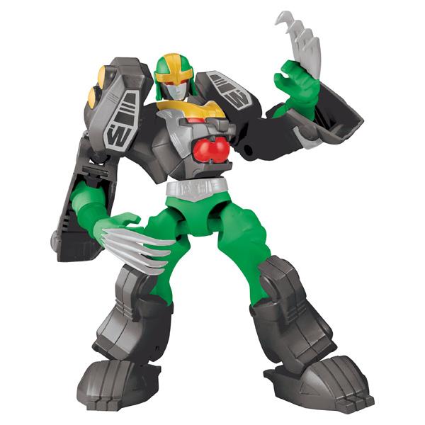 Power Ranger Mixx n Morph Green Tiger Rangerzord