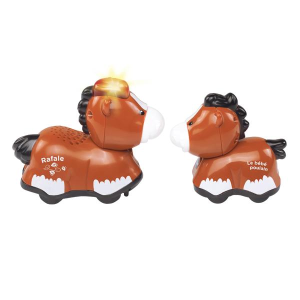Tut Tut Animo-Duo bébé avec papa cheval