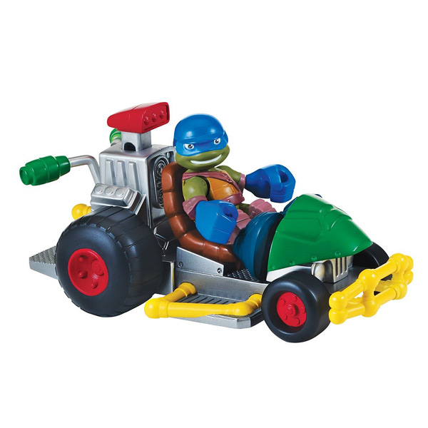 V hicule tortues ninja avec l o et sonorit s giochi king - Vehicule tortue ninja ...