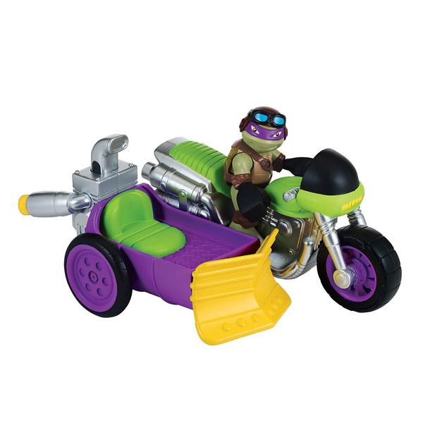 V hicule tortues ninja avec donny et sonorit s giochi - Vehicule tortue ninja ...