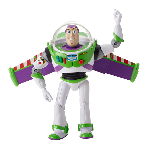 buzz l 39 clair figurine deluxe toy story 15 cm mattel. Black Bedroom Furniture Sets. Home Design Ideas