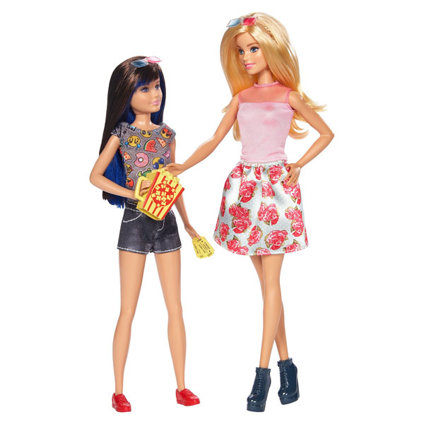 barbie et sa soeur brune skipper mattel king jouet poup es mannequin mattel poup es peluches. Black Bedroom Furniture Sets. Home Design Ideas
