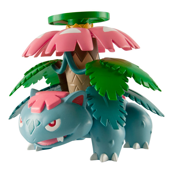 Pokemon super figurine action mega florizarre tomy - Pokemon florizarre ...