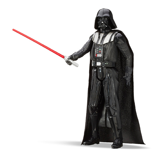 dark vador figurine star wars titan 30 cm hasbro king jouet h ros univers hasbro jeux d. Black Bedroom Furniture Sets. Home Design Ideas
