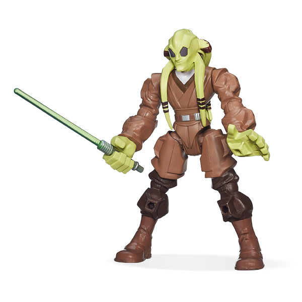 Kit Fisto figurine Star Wars Hero Mashers