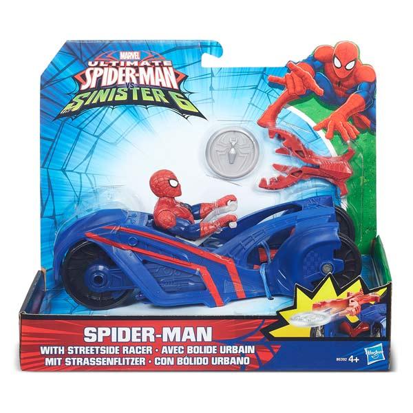 Figurine Spider-man et son véhicule - Webcity