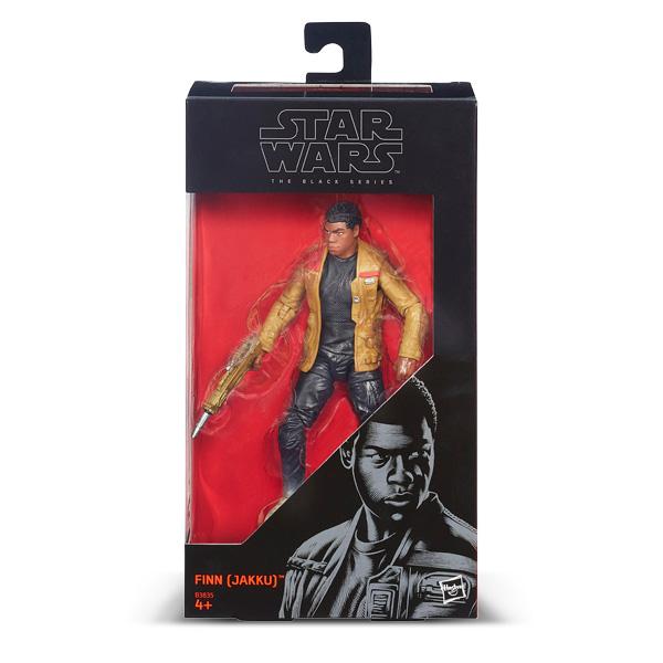 Finn Jakku Star Wars figurine Deluxe Black series 15 cm