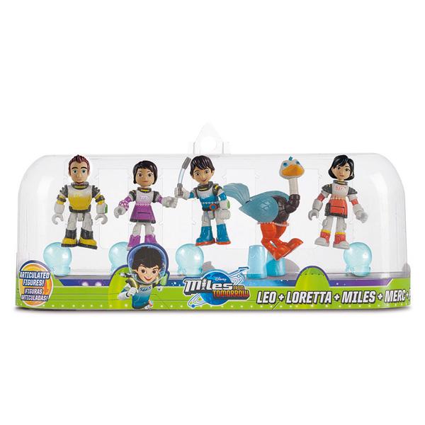 Pack de 5 figurines Miles - Humains
