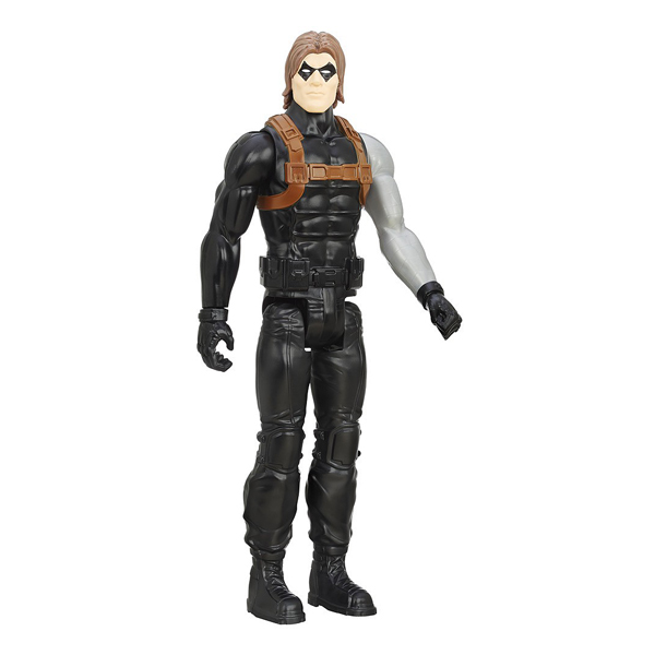 winter soldier figurine avengers 30 cm hasbro king jouet figurines et cartes collectionner. Black Bedroom Furniture Sets. Home Design Ideas