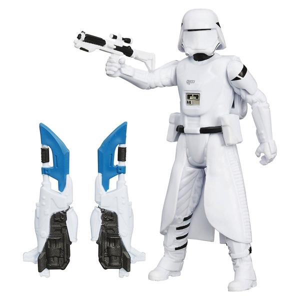Snowtrooper figurine Star Wars 10 cm Glace et Desert de Hasbro
