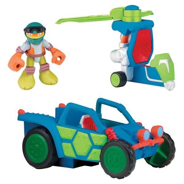 V hicule tortues ninja avec sonorit s dune duster mikey - Vehicule tortue ninja ...