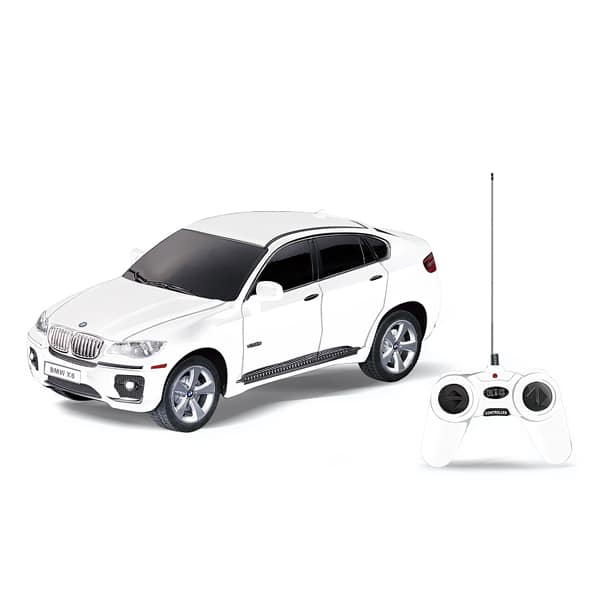 bmw x6 blanc radiocommand e 1 24 mondo motors king jouet voitures radiocommand es mondo. Black Bedroom Furniture Sets. Home Design Ideas