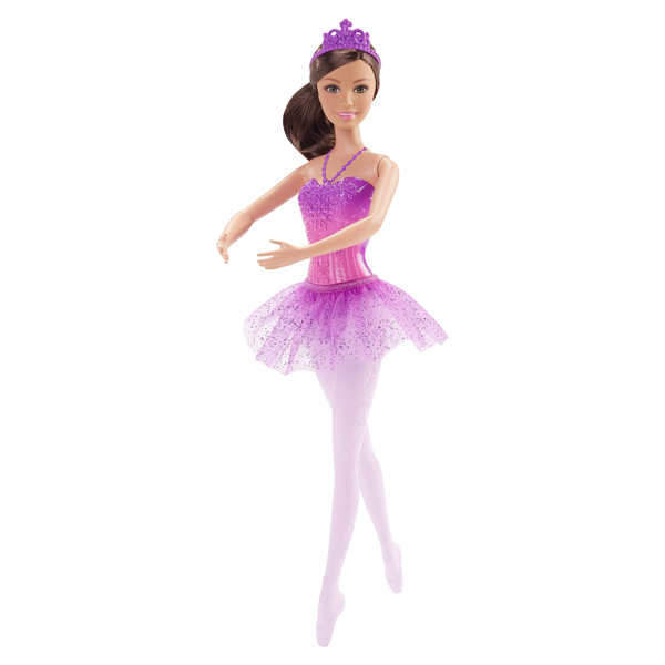 Barbie ballerine violet