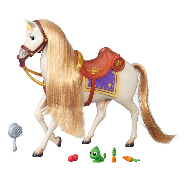 Disney princesse cheval maximus raiponce hasbro king jouet accessoires de poup es hasbro - Cheval raiponse ...