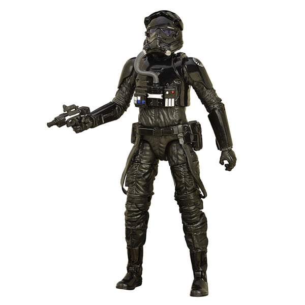 Fighter pilot Star Wars figurine Deluxe Black series 15 cm