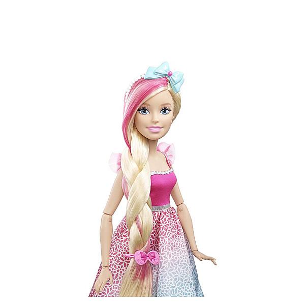 barbie grande princesse coiffer 43 cm blonde mattel. Black Bedroom Furniture Sets. Home Design Ideas