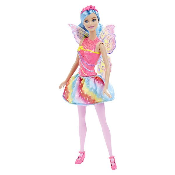 Barbie Fée Multicolore Arc-en-ciel