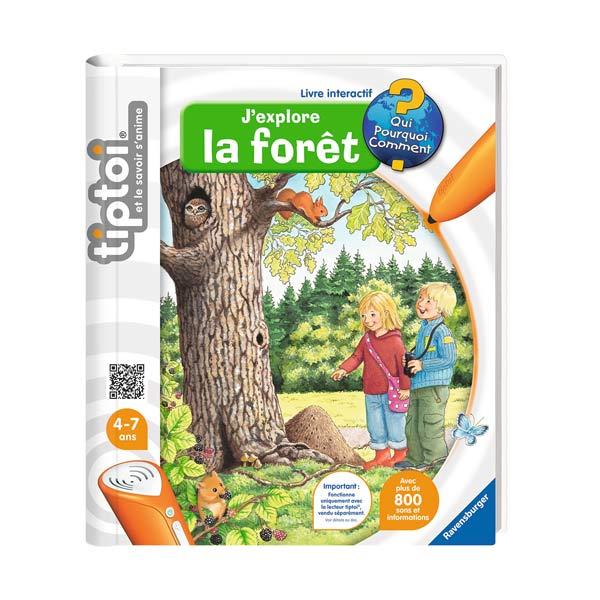 Tiptoi livre forêt