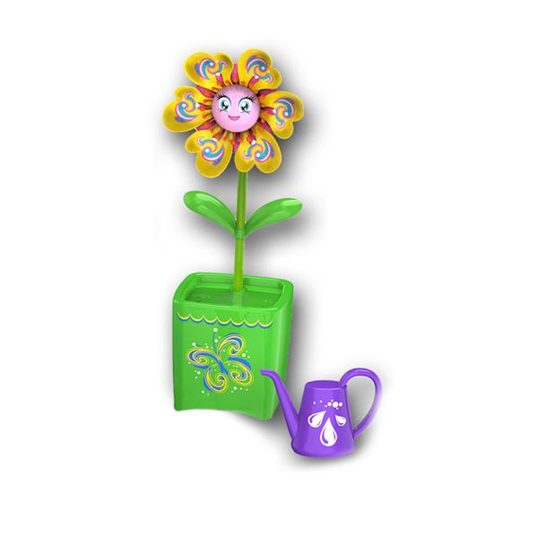 Fleur Magic Bloom jaune et vert