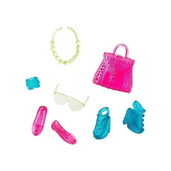 barbie chaussures et accessoires cfx30 mattel king jouet accessoires de poup es mattel. Black Bedroom Furniture Sets. Home Design Ideas