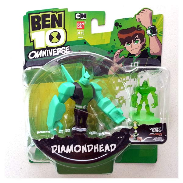 Ben 10 Figurine Omniverse Diamonhead