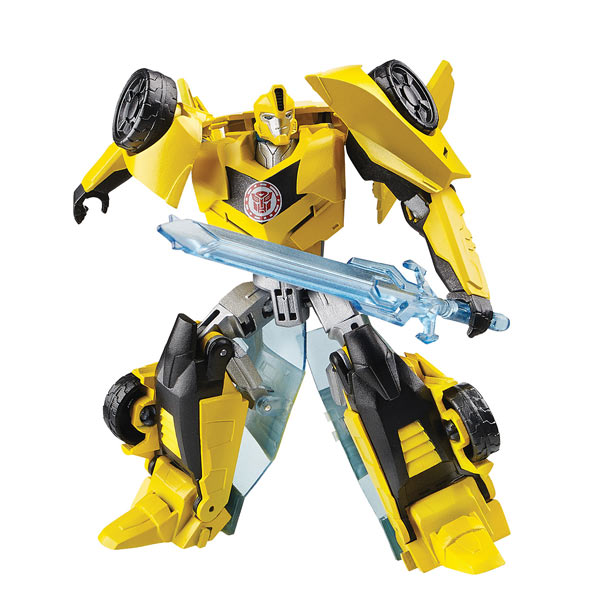 transformers rid deluxe magix bumblebee jaune gris hasbro king jouet figurines hasbro. Black Bedroom Furniture Sets. Home Design Ideas