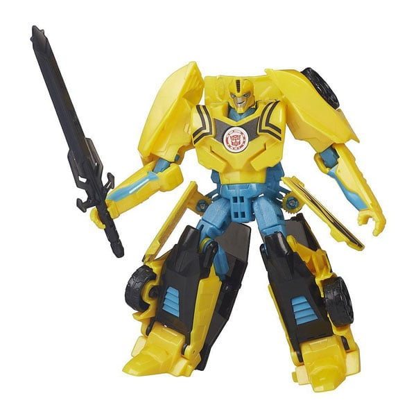 transformers rid deluxe magix bumblebee jaune vert hasbro king jouet figurines hasbro. Black Bedroom Furniture Sets. Home Design Ideas