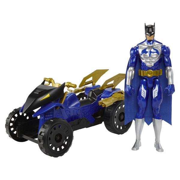 Quad 30 Batman Figurine Véhicule Terrain Avec Cm Tout vNnmyO80w