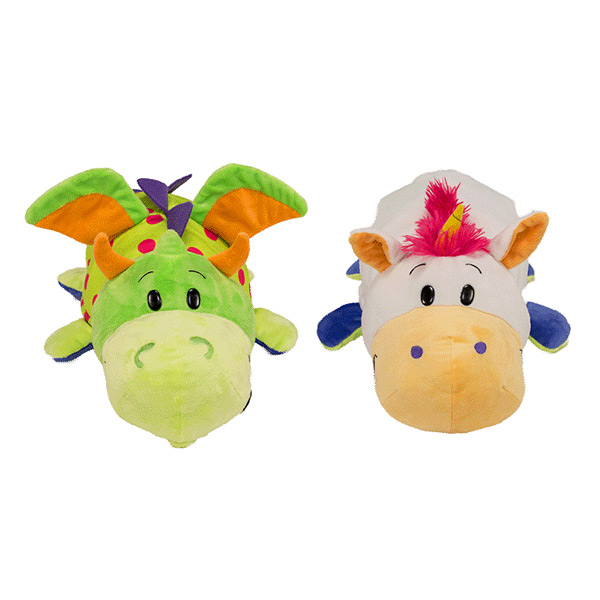 Peluches Flip a Zoo Dragon et Licorne