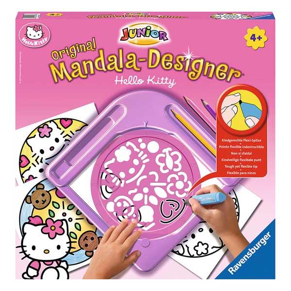 mandala designer s rie hello kitty ravensburger king jouet dessin et peinture ravensburger. Black Bedroom Furniture Sets. Home Design Ideas