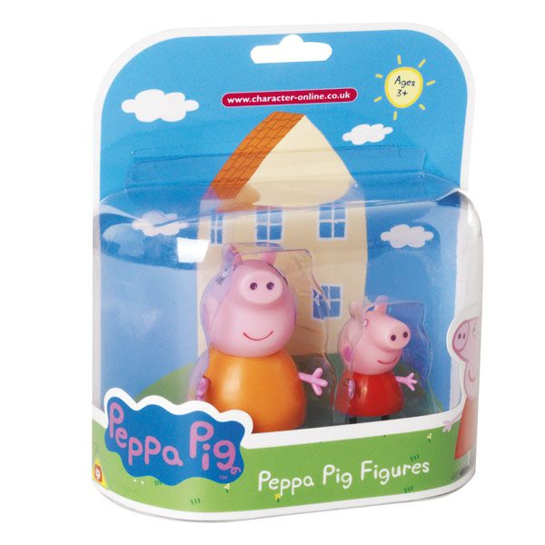 Peppa blister 2 figurines maman pig et peppa giochi king jouet h ros univers giochi jeux - Jouet peppa pig carrefour ...