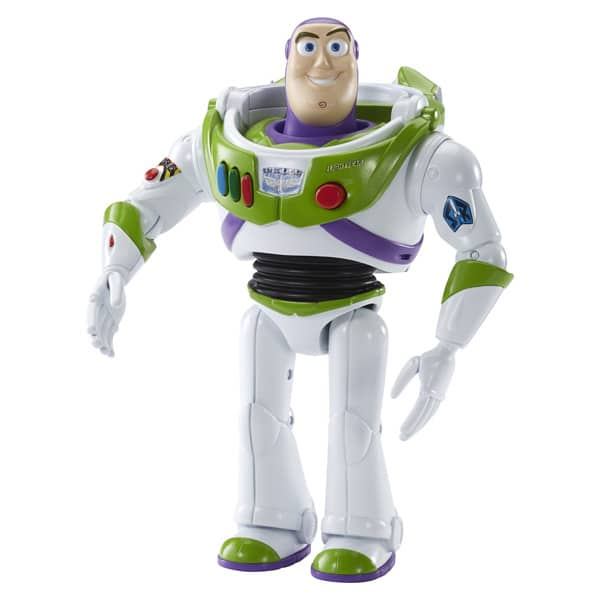 figurine sonore toy story 15 cm buzz l 39 clair mattel. Black Bedroom Furniture Sets. Home Design Ideas
