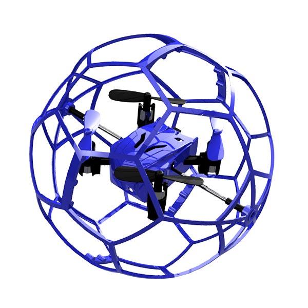 Drone ball bleu