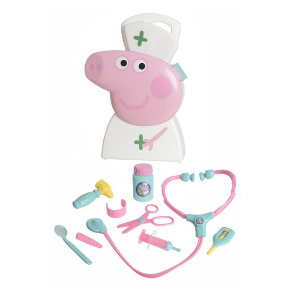 Docteur À Héros Boite Peppa Pig nNvm80w