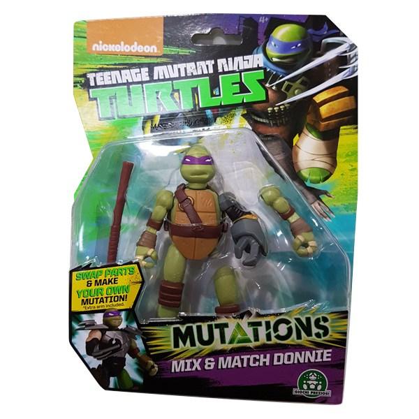 Tortue Ninja mutation figurine 12cm Donie