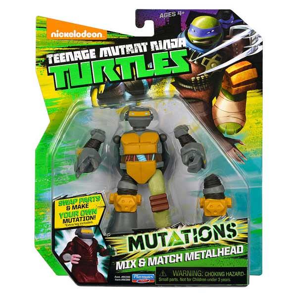 Tortue Ninja mutation figurine 12cm Metalhead