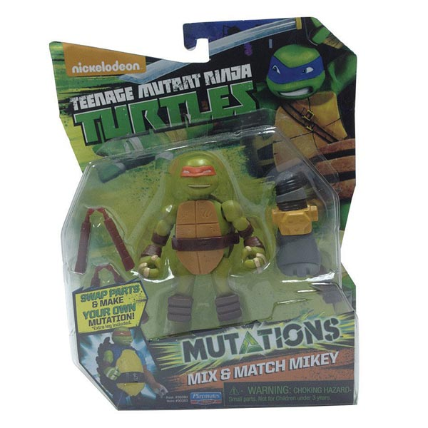 Tortue Ninja mutation figurine 12cm Mikey
