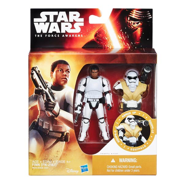 Star Wars figurine armure 10cm Finn