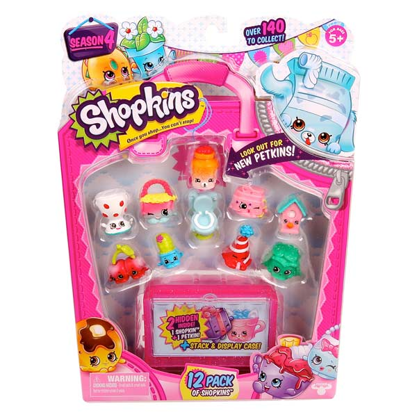 Shopkins 4 - Coffret 12 Shopkins J