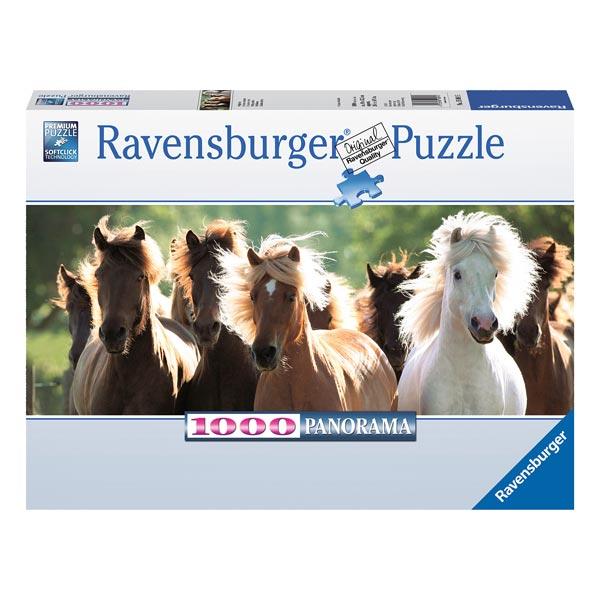 Puzzle 1000P Chevaux sauvages