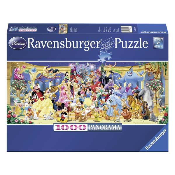 Puzzle 1000P Photo de groupe Disney