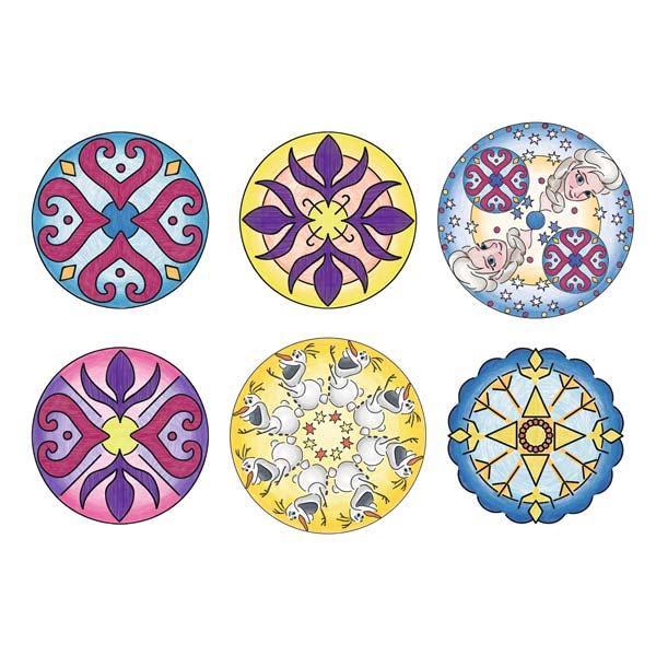 Mandala Designer La Reine des Neiges