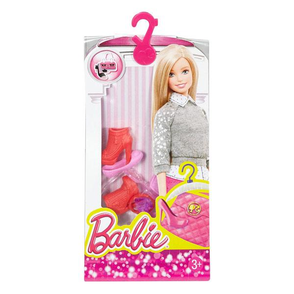 barbie chaussures et accessoires dhc55 mattel king jouet accessoires de poup es mattel. Black Bedroom Furniture Sets. Home Design Ideas