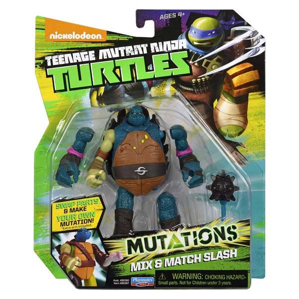 Tortue Ninja mutations figurine 12cm Slash + bras tmnt