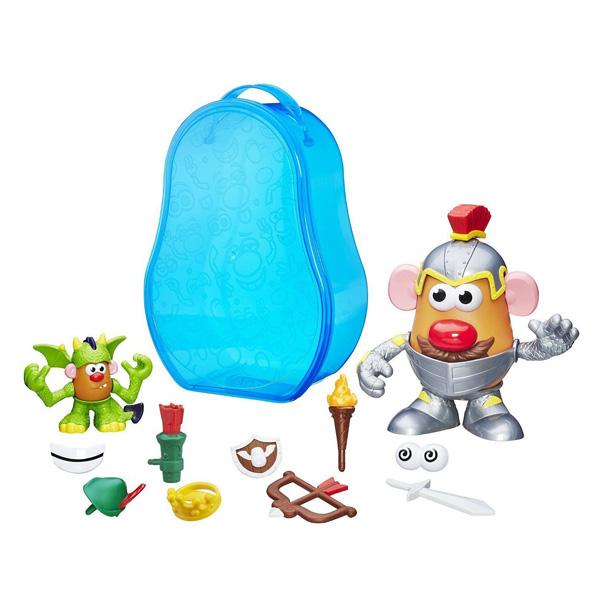 mallette mr patate chevalier playskool king jouet jeux de construction playskool. Black Bedroom Furniture Sets. Home Design Ideas