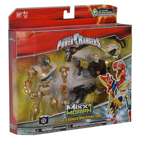 Power rangers pack mixx n